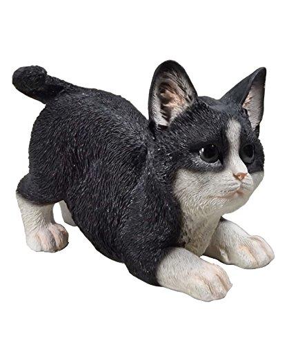 Katze Katzen Deko Garten Tier Figur Katzenfigur Kätzchen Skulptur Statue Kater
