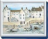 Creative Tops Cornish Harbour Bean Bag Cushion Laptray