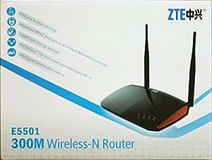 ZTE E5501 Routeur WLAN 300 Mbps Noir