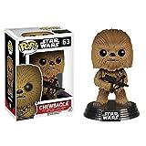 Star Wars 7 Chewbacca Wackelkopf Figur mit Base Funko Pop Vinyl 13cm