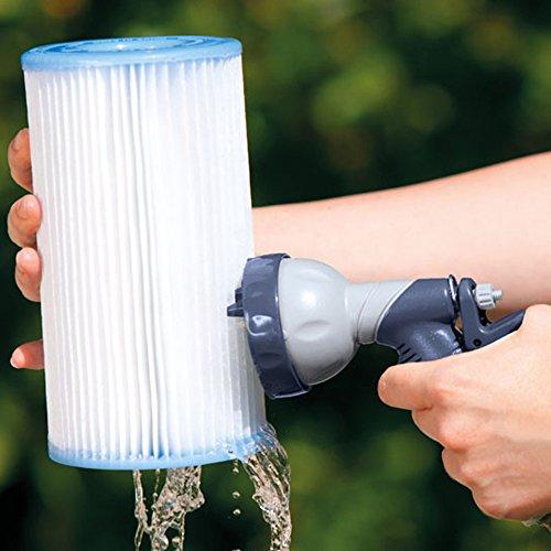 Intex Filteranlagenzubehör Filterkartuschen-Reiniger, grau, 25 x 16,5 cm