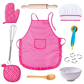 Anika's Crafts Kids Pretend Role Play Set (Apron Set)