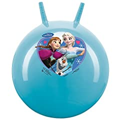 Idea Regalo - Disney Frozen Elsa, Anna & Olaf 45-50Cm Hopper Palla