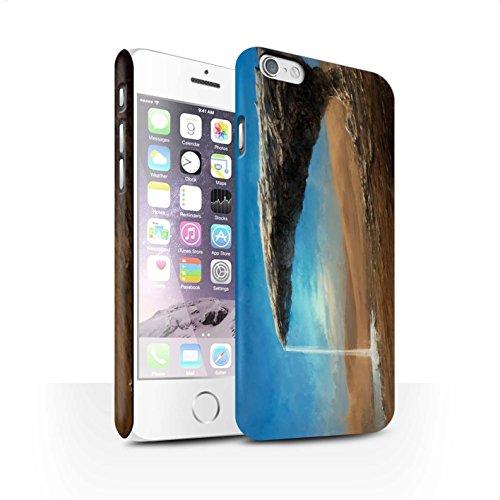 Offiziell Chris Cold Hülle / Matte Snap-On Case für Apple iPhone 6 / Exoplanet Muster / Galaktische Welt Kollektion Exoplanet