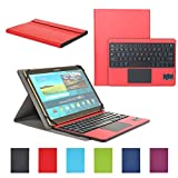 Funda con Teclado Bluetooth CoastaCloud Teclado Bluetooth Inalámbrico 3.0 QWERTY Español con Multi...