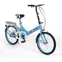 XQ 162URE 20 Pulgadas Bicicleta Plegable Sola velocidad Bicicleta Hombres y Mujeres Bicicleta Bicicleta de los