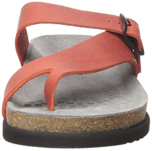 Mephisto Womens Helen Nubuck Sandals Rot