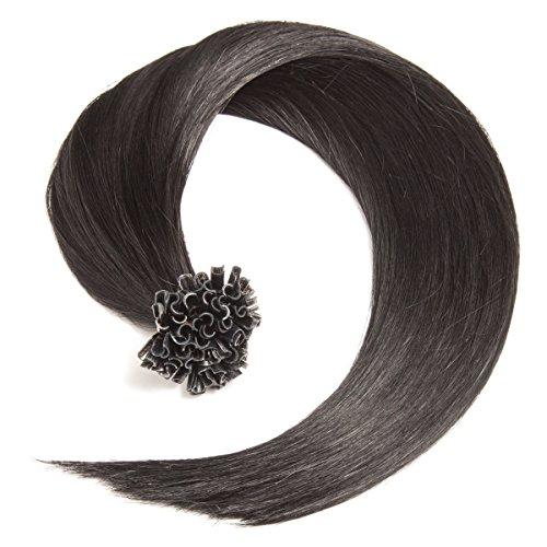 arze Nr. 1 glatte indische Remy 100% Echthaar U-tip Extensions/Echthaar-Strähnen/Haarverlängerung mit gratis Zubehör ()