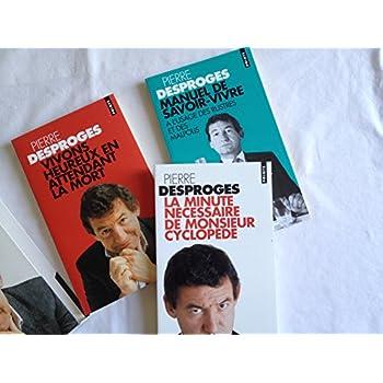 DESPROGES COFFRET 3 VOLUMES