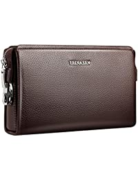 Itslife WoMen's Handbags Messenger Designer Shoulder Handbag Tote Top Handle Bags For Ladies(Brown)
