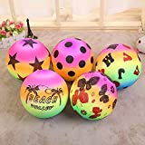 "Toyshine 8"" Inches Inflatable Balls Pack of 24 Birthday Party Return Gift Party Favor,Plastic,Multi color"