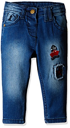 Donuts Baby Girls' Jeans (269783634 BLUE 18M IN-30)