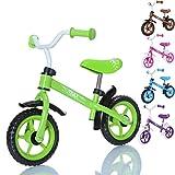 LCP Kids TRAX Kinder Laufrad als Lern Fahrrad ab 2 Jahren - 10 Zoll, Farbe Grün