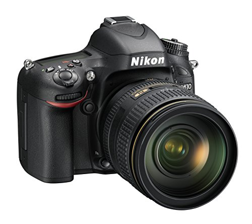 Nikon D610 Body + VR 24/120 Fotocamera Reflex Digitale, 24.3 Megapixel, LCD 3.2 Pollici, SD 8 GB Premium Lexar 300x, Nero [Nital card: 4 anni di garanzia]
