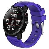 Janly Bracelet de Montre de Rechange SportsSilicagel Sports pour HUAMI Amazfit Stratos Smart Watch 2 (Menthe Verte, 210MM)