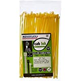 Novoflex CPSS 150 ES_100_YLW Cable Ties 150mm, Yellow, Pack of 100