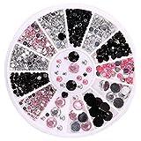 Arichtop Cristalli Nail Art Manicure Diverse Dimensioni Unghia di bellezza Strass decorazioni dei monili