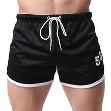 Logobeing Bañadores Verano Pantalones Cortos para Hombre Fitness Culturismo Bañador Hombre Playa Natación Ropa Trajes de