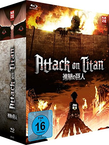Attack on Titan - Vol.1 + Sammelschuber [Limited Edition] [Blu-ray]