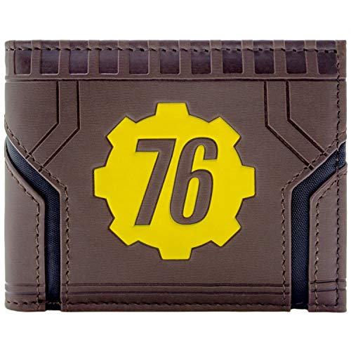Fallout 76 Vault-Tec Braun Portemonnaie Geldbörse