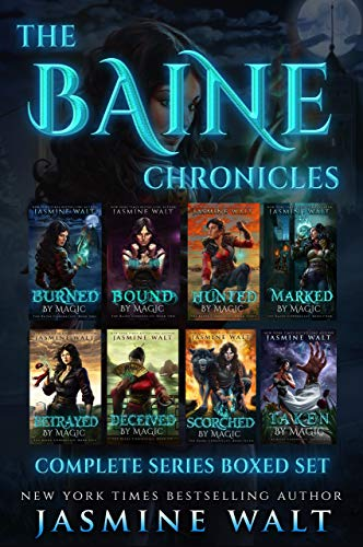 The Baine Chronicles Books 1-8: Complete Series Boxed Set Collection (English Edition) -