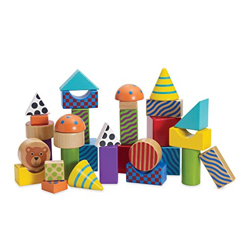 Manhattan Toy - 211550 - Jouet de Premier Age - Create and Play Pattern Blocks