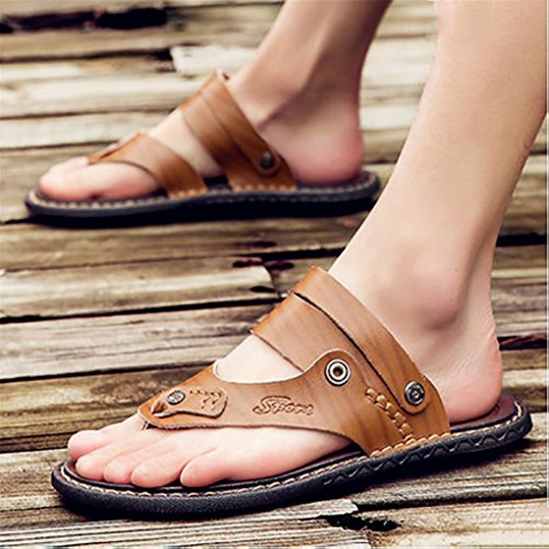 xiaojian& Zapatillas de playa de verano para hombres, 603-khaki, 41 -