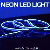 Striscia flessibile LED DC 12V SMD 2835 LED Tubo flessibile al neon Impermeabile Corda a stringa, Multi Colore Seleziona per la casa Decorazione festiva, Decorazione festiva, Blu