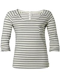 O'Neill LW Wisdom T-shirt à manches longues pour femme Blanc Blanc vaporeux