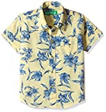 Palm Tree Baby Boys' Shirt (131012322784 C308_Yellow_12M)