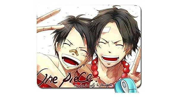 Anime One Piece Ace Luffy Short Hair Anime Boys Closed Eyes