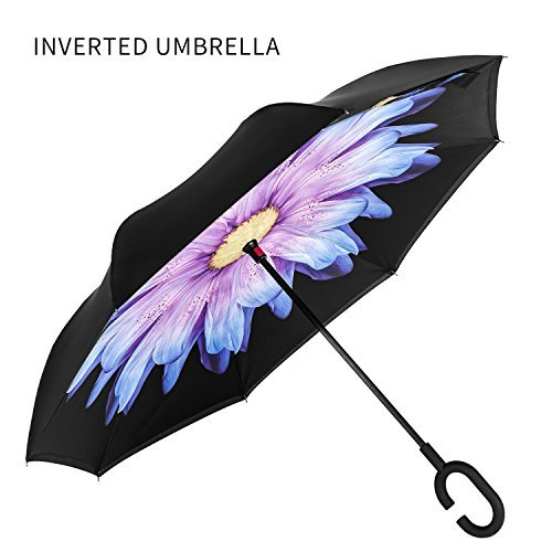 premium-double-layer-compact-reverse-umbrella-for-car-by-ambrellaok-c-shaped-hands-free-handle-inver