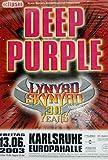 DEEP PURPLE LYNYRD SKYNYRD TOUR KARLSRUHE 13/06/ 2003