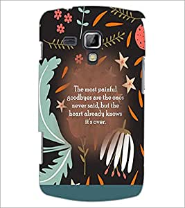 PrintDhaba Quote D-3668 Back Case Cover for SAMSUNG GALAXY S DUOS S7562 (Multi-Coloured)