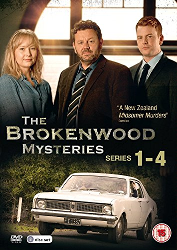 The Brokenwood Mysteries - Series 1-4 (8 DVDs)