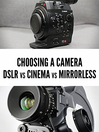 DSLR vs. Mirrorless vs. Cinema Cameras [OV] -