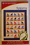 Cozy Quilt Designs Regatta Quilt Pattern Fat Quarter Friendly -from: Cozy Quilt Designs Quilt PT134