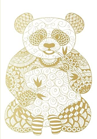 Golden Panda Notebook