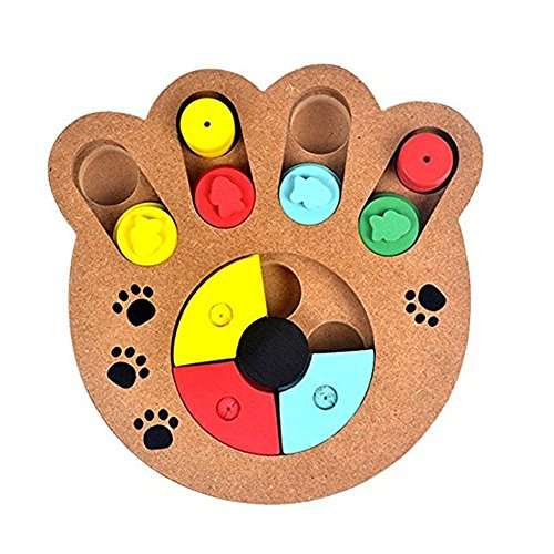 InterActive Seek food Dog Toy Pet Cat IQ Toy food Hiding puzzle training Game