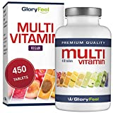 Multivitamins and Minerals - 450 Multivitamin Tablets for up to 15 Months Supply