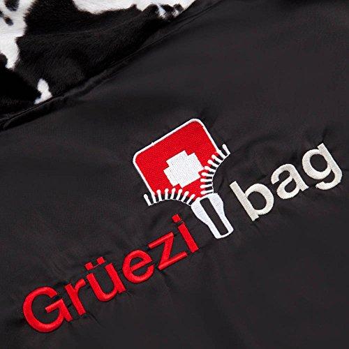 Grüezi+Bag Erwachsene Mumienschlafsack Cow RV Links, Schwarz, 40 x 23 x 23 cm, 7800 - 9