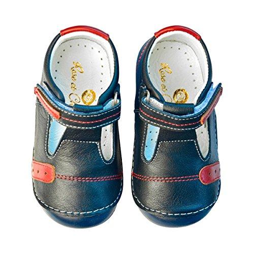 ROSE ET CHOCOLAT Chaussures premiers pas « T-Strap » chaussures bébé