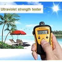 paracity High Precision UV Stärke Tester UV-Messgerät Photometer UV-Detektor Handheld LCD-Beleuchtung 1000U W/cm2Weithin verwendet in der Schule Familie UV-Stärke Tester