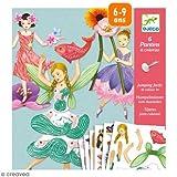 Djeco - Kreativ Set Fairies mit beweglichen Elementen von Djeco