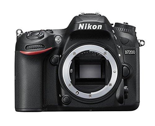 Nikon D7200 body Fotocamera Reflex Digitale, 24,72 Megapixel, Wi-Fi incorporato, NFC, SD...
