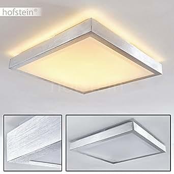 quadratische led leuchte f r badezimmer k che flur esszimmer eckige badleuchte im. Black Bedroom Furniture Sets. Home Design Ideas