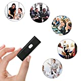 from TedGem TedGem 8GB USB Digital Audio Voice Recorder,USB Recorder,Activated Voice Recorder,Audio Recorder,Portable Recording Device,Sound Recorder & 8GB USB Flash Drive for Recording Interviews, Conversation and Meetings