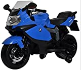 #10: Kidbee Officially Licensed BMW Bike- 12V Battery Operated Ride On for Kids - Blue