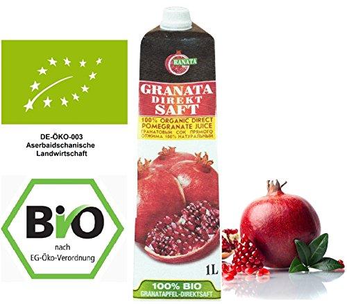 Bio Granatapfelsaft 1 Liter Pack, (DE-ÖKO-003)