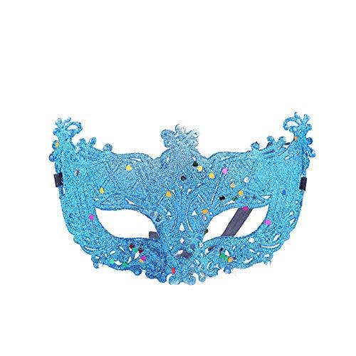 Chakil Partei Männer Maskerade Maske Halloween Kostüm venezianische Partei Maske DIY handgefertigt (Diy Männer Halloween-kostüme Für)